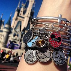 Cinderella Castle + Alex and Ani = perfection! I seriously hope they have plans to expand their Disney collection because I only need a few more for the complete set! ✨