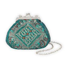 Recycled Sari Vintage Evening Bag | Fair Trade Bags | Fair Indigo