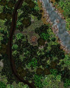 Campsite in the woods by Bogie-DJ.deviantart.com on @DeviantArt