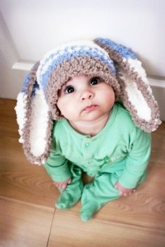 I want this hat for Ryan next Easter! (: