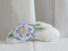 Handmade Hand Beaded Pincushion  Embroidered by nedaoriginals