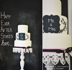 Chalkboard backdrop with a quote.