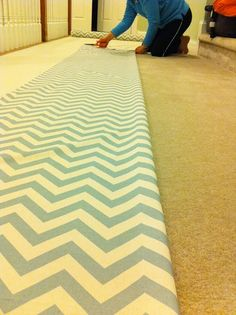 I want to make my own curtains but I have no idea how to sew!!   Chevron Curtains for the Family Room