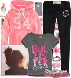 """Hollister 94-"" by thepanda43 ❤ liked on Polyvore"