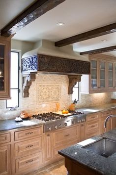 Charmean Neithart Interiors, LLC. rustic kitchen
