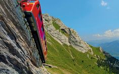Ein Ausflug mit Bus, Zahnradbahn, Luftseilbahn und Schiff. Der Bus, Outdoor Decor, Bowties, Alps, Viajes