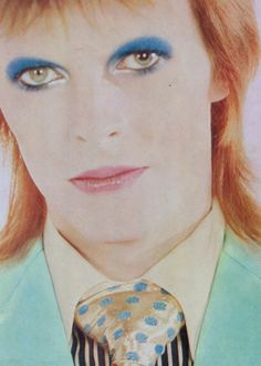 David Bowie from Life On Mars video 70s.~~~ See you in the starz Ziggy!! R.I.P. <3 <3