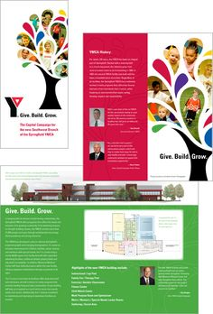 capital campaign brochure examples 15 best graphic design capital campaign materials images on ideas newspress