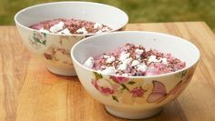 Crispy fruityoghurt - recept | 24Kitchen