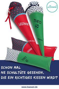 Schultüte Innenkissen Inlett für Stoff-Schultüten 85 cm mint