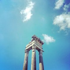 The Apollo temple in the and its millenary majesty