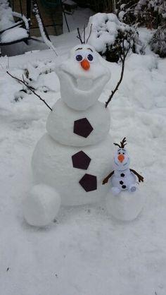 real snowmen - Google Search