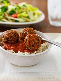 Beetballs and Spaghetti! #Vegan #Gluten_Free