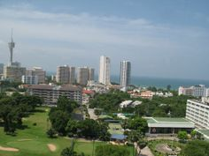 One Tower Condo Pattaya by The One Group Development 10th Floor View  © 2014 ALL RIGHTS RESERVED TO THE PROJECT DEVELOPER