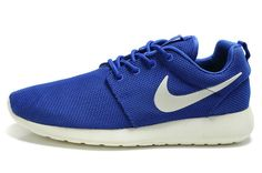 reputable site 8d063 fb404 Nike Roshe Run Mesh Sneakers Heren Blauw Wit, Quality Sneakers are worthy  for you own