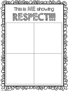 Respect Activity Pack by Proud to be Primary | Teachers Pay Teachers