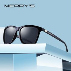 0f9351fff5 MERRYS Unisex Retro Aluminum Sunglasses Polarized Lens Vintage Sun Glasses  For Men Women S8286 Mens