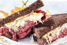rustic pumpernickel, Giacomo's corned beef and pastrami, sauerkraut, Gruyère, zesty Russian dressing, hand-cut fries