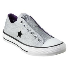 Women's Converse® One Star® Sparkle Oxford Sneaker - Silver Got these on sale for $10 at target