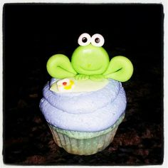 Frog cupcake #RedboxBakeOffContest