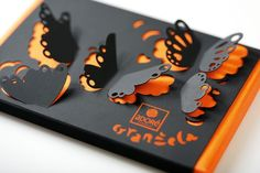 Butterfly Chocolate Packaging.   Which comes 1st, playing with the box or eating the chocolate?