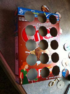 The Lady Wolf: DIY Keurig K-Cup Holder {or cupcake holder if holes made bigger.}