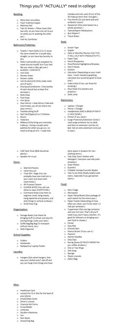college dorm checklist packing lists \ college dorm checklist - college dorm checklist freshman year - college dorm checklist for guys - college dorm checklist for girls ideas - college dorm checklist packing lists College Dorm List, College Dorm Checklist, College Packing Lists, College Hacks, College Dorm Rooms, College Supply List, Dorm Room List, Uni Checklist, University Packing List