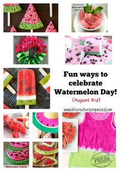 Happy Watermelon Day