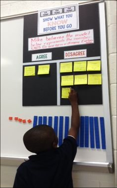 Show What You Know board for exit tickets - blog post includes great tips and a free template!