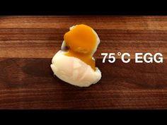 favorite sous vide egg recipe at the moment! 75 c egg for 13 min! via ChefSteps