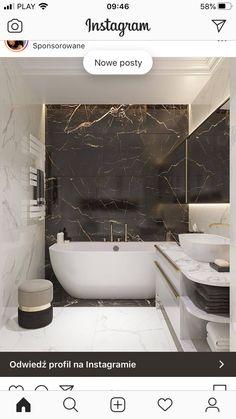 Modern Luxury Bathroom, Bathroom Design Luxury, Minimalist Bathroom, Bathroom Layout, Modern Bathroom Design, Small Luxury Bathrooms, Minimalist Interior, Black Marble Bathroom, Small Bathroom