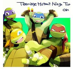 They're are all adorable, but Raph is mine~ KJM