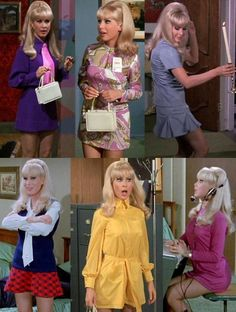 I Dream of Jeannie Outfits Barbara Eden Barbara Eden, I Dream Of Jeannie, Julie Newmar, Vintage Tv, Vintage Beauty, 1960s Fashion, Vintage Fashion, Mod Fashion, Film Fashion