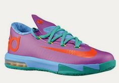 Nike KD 6 VI Rugrats Sneaker Available Now FOR RETAIL IN GS SIZES!!!