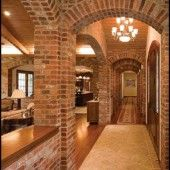 Old Mill Thin Brick, Brick Veneer products for Do-It-Yourself installation, Commercial and Residential, Interior and Exterior Products Thin Brick Veneer, Brick Interior, Brick Construction, Brick Architecture, Spanish Style Homes, Brick Design, Brick And Stone, Brickwork, Exposed Brick