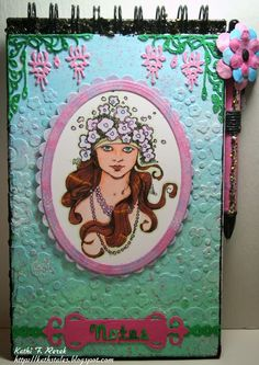 Kat's Tales of Stamping & Scrapping: #DecoArt and #Stampendous Blog Hop!