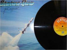 At £14.15  http://www.ebay.co.uk/itm/Status-Quo-Just-Supposin-PROMO-LP-Near-Mint-Condition-9-Track-Vertigo-6302-/261098546295