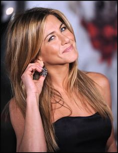 Jennifer Aniston hair...everyone wants this color...including me