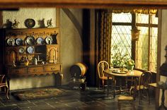Thorne room, via Flickr.  Thorne Miniature Rooms