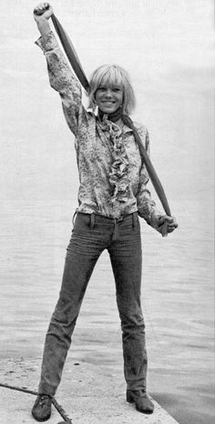 Anita Pallenberg: Brian Jones, Keith Richards...and Mick too.
