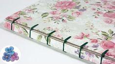 Cómo hacer un libro artesanal. Tutorial de encuadernación | How to make a…