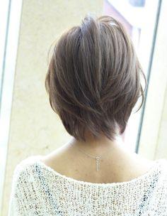 大人美人ショート(NA-61) | ヘアカタログ・髪型・ヘアスタイル|AFLOAT(アフロート)表参道・銀座・名古屋の美容室・美容院