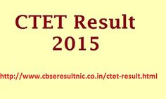 #CTET sept. result 2015 which is available soon on official website before 30 October 2015 so all aspirants who already given this examination in September month those can check their result soon after the final declaration by the Central board of secondary education.