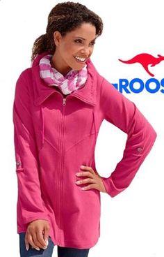 Damen Sweatjacke Pink KangaRoos Gr.40 von KangaROOS, http://www.amazon.de/dp/B00AUD129K/ref=cm_sw_r_pi_dp_kQ9grb17ANFPF