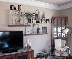 15 Best Large Wall Space images in 2019   Living room decor ...