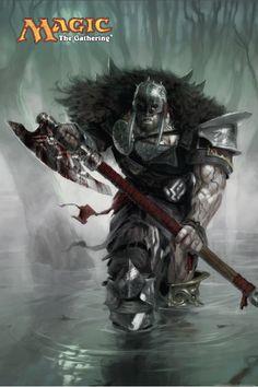 Garruk. Apex Predator - Tyler Jacobson
