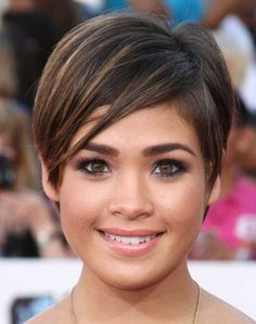Pixie hairstyles fine hair for round face 2018 2019 - page from haircuts fo Pixie Haircut For Round Faces, Pixie Cut Round Face, Short Hair Cuts For Round Faces, Short Thin Hair, Round Face Haircuts, Hairstyles For Round Faces, Short Pixie, Short Hair For Round Face Double Chin, Thick Hair