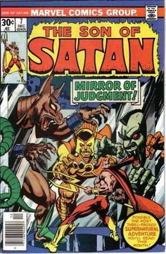 Marvel in the '70s: Exorcist Heroes? Yup.