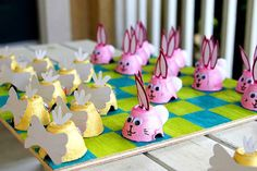 Egg carton bunnies and crafts - 15 Easter Crafts, Activities, and Treats for Kids I Easter Ideas for Kids - ParentMap