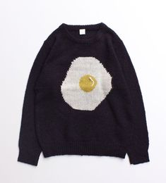 Spermatozoa and egg sweater. Get the yoke?  Sleepy Jones Journal.